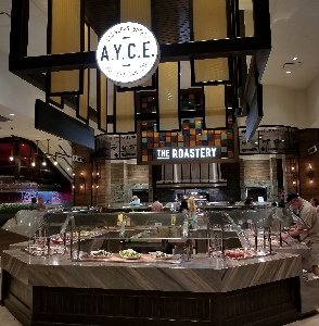 The A.Y.C.E. buffet at The Palms