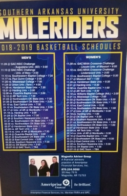 Muleriders basketball schedule