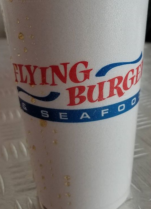 Flying Burger cup