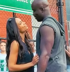 Luke Cage and Claire