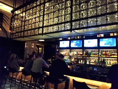 bar at The Pendry