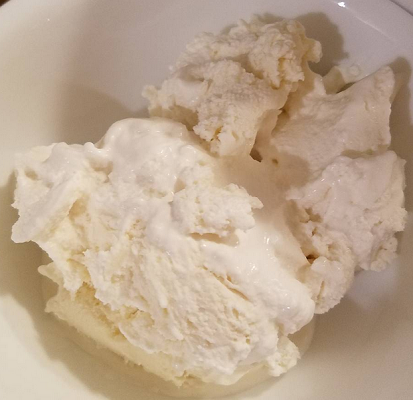 root beer ice cream I made