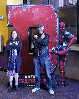 Stephen, me and Deadpool